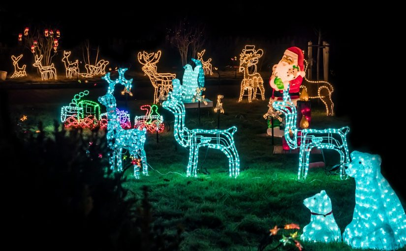 How to Decorate a Garden for Christmas?